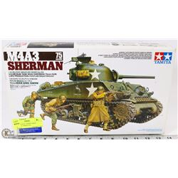 NEW VINTAGE TAMIYA M4A3 SHERMAN 75MM GUN