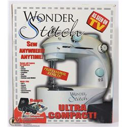 WONDER STITCH ULTRA COMPACT SEWING MACHINE