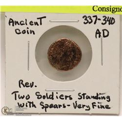 ANCIENT COIN 337-340 AD CONSTANTINE II