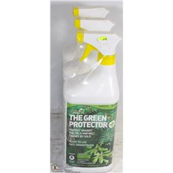 LOT OF THREE 1 LITRE BOTTLES OF THE GREEN PROTECTOR