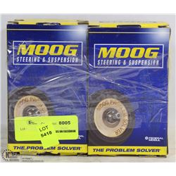 LOT OF 4 MOOG PARTS, 2 BUSHING KITS P/N K6670 AND