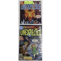 UNEXPECTED COLLECTORS COMICS #198 & #245