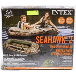 INTEX 2 PERSON CAMO BOAT