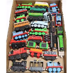 FLAT OF THOMAS TANK TRAINS
