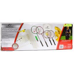 EASTPOINT 5 GAME COMBO OUTDOOR GAMES SET