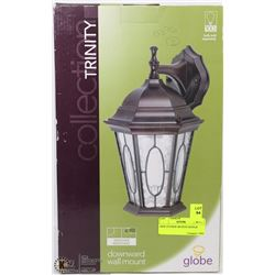 NEW TRINITY DOWNWARD WALL MOUNT OUTDOOR LIGHT