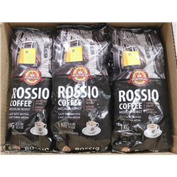 LOT OF 3 PORTUGAL ROSSIO COFFEE MEDIUM ROAST