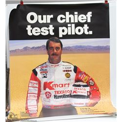 NIGEL MANSELL 1993 INDYCAR WORLD CHAMPION POSTER