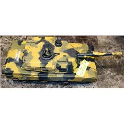 REMOTE CONTROL TANK WITH BATTERY USED AS ORNAMENT