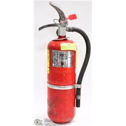 5 LB FIRE EXTINGUISHER, CHARGED AND SEALED-  2016