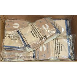 BOX OF ELECTROLUX VACUUM BAGS