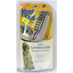 KNOT OUT BRUSH FOR DOGS