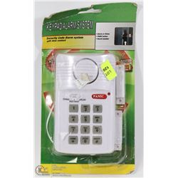 SECURITY  KEYPAD ALARM