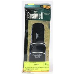 BUSHNELL POWERVIEW DAY/NIGHT MONOCULAR  16X52