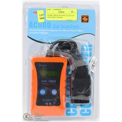 AC600 CAR SCAN TOOL DIAGNOSE AND RESET ENGINE