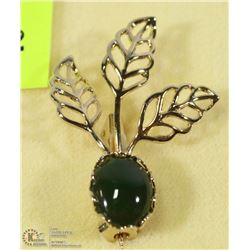 GENUINE JADE BROOCH