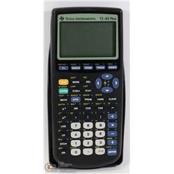 TI-83 PLUS SCIENTIFIC CALCULATOR