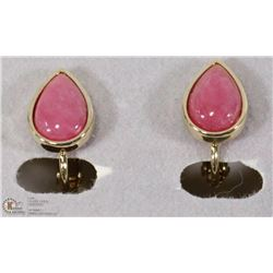 GENUINE RHODONITE EARRINGS