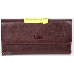 DELLA DESIGNER LEATHER WALLET