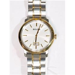 #12-BULOVA MEN'S TWO TONE WATCH