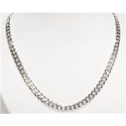 #21-STERLING SILVER 31G CHAIN NECKLACE