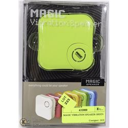 MAGIC VIBRATION SPEAKER GREEN