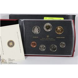 RCM 2007 SPECIMEN SET OF CANADIAN COINS