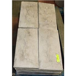 "LOT OF 20 CONCRETE STEPPING STONES 8""X16"""