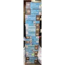 13 BOXES OF EASY TILE INTERLOCKING DRAINAGE TILE