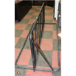 POLICE SEIZURE, LARGE STEEL BIKE RACK