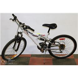 SPORTEK 18 SPEED FULL SUSPENSION MOUNTAIN BIKE