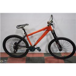 POLICE SEIZURE,GIANT OR SCHWINN MENS BIKE (ORANGE)