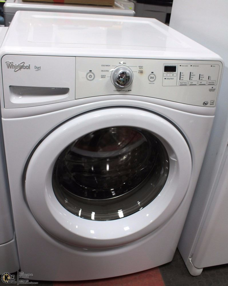 Whirlpool washer and dryer set incl duet he washer - Whirlpool duet washer and dryer ...