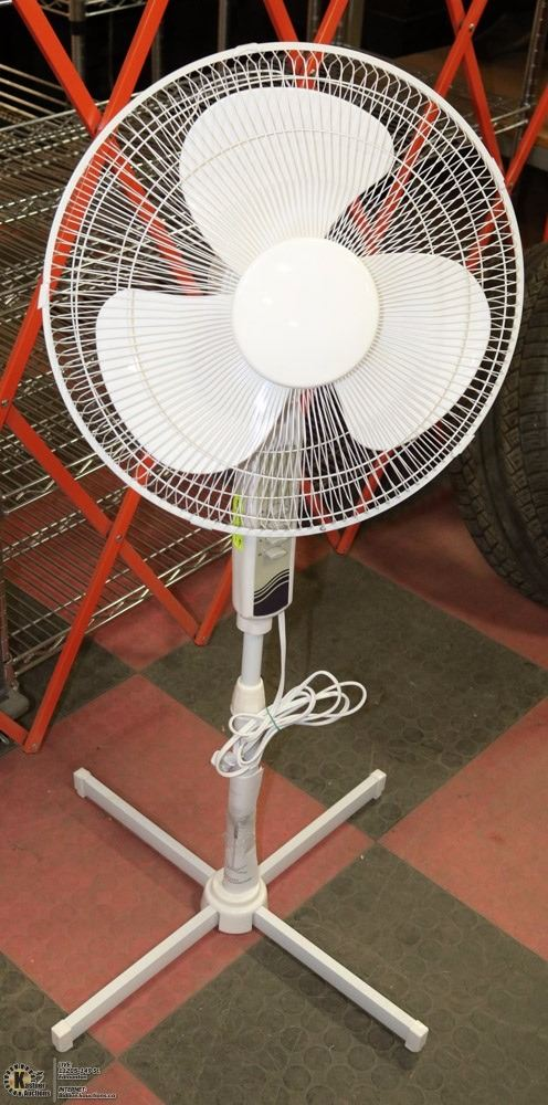Stand Up Fan : Mainstays oscillating stand up fan kastner auctions