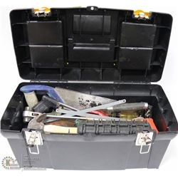 STANLEY TOOL BOX WITH CONTENTS