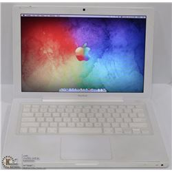 APPLE WHITE MACBOOK W OSX MAVERICKS