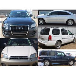 FEATURE CARS , SUVS , MINIVAN LOTS 301,320,351,360