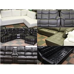 FEATURE NEW SOFAS AND SECTIONALS