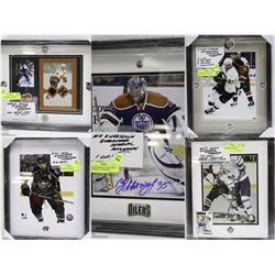 FEATURE SPORTS MEMORABILIA LOTS  646 - 654