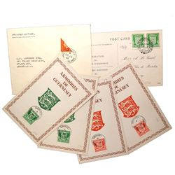 GUERNSEY JERSEY CHANNEL ISLANDS COVER & CARDS