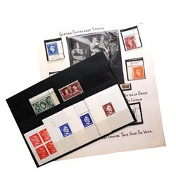 WORLD WAR II PROPAGANDA STAMPS SELECTION
