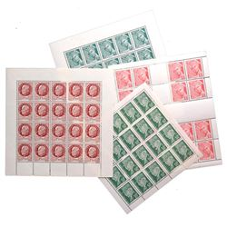 FRANCE 1944 PROPAGANDA STAMP SHEETS
