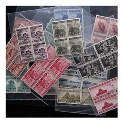 POLAND EXILE GOVERNMENT 1941-1943 SETS BLOCKS MINT