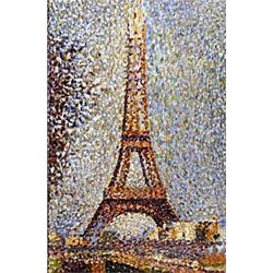 "Print ""Eiffel Tower""  Georges Seurat"