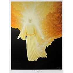 "Lithograph ""On the Wings of Glory""  Steven Lavaggi"