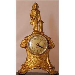 Fireman's Insurance Co. - Gold over Bronze Sculpture