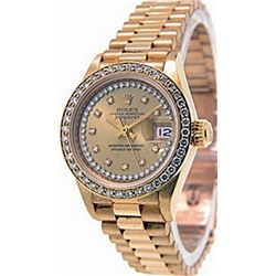 Lady's President DateJustDate Rolex