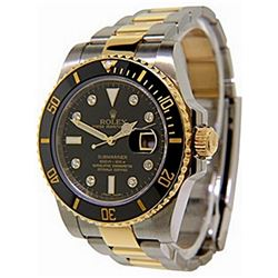 TwoTone DiamondDial Submariner Rolex