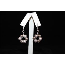 Fine Balls Silver Earrings (26E)