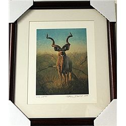 Framed  Peter Darro Limited Edition Lithograph (6E-EK)